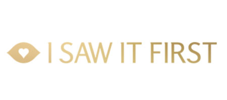 I Saw It First logo